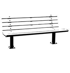 Bench eps vector