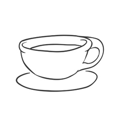 Mug icon Tea drink design graphic vector