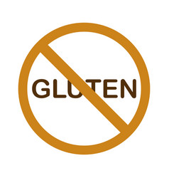 No gluten vector