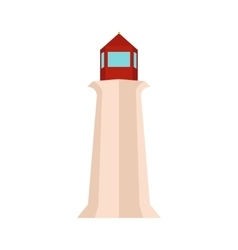 Peggy Cove Lighthouse Nova Scotia Canada vector image