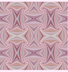 Pink hypnotic abstract seamless striped swirl vector