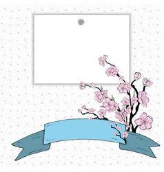 sakura gradient vector image