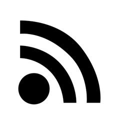 Wifi signal icon image vector