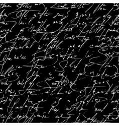 script pattern vector image vector image