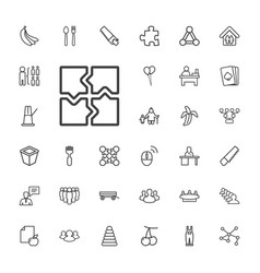 33 group icons vector