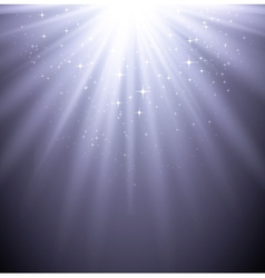 Abstract magic light background with star vector