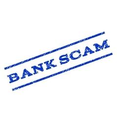 Bank Scam Watermark Stamp vector