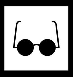 Experimental glasses icon vector