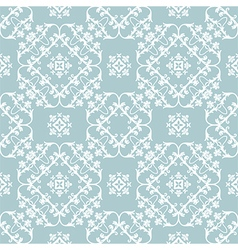 floral seamless pattern background two vector image