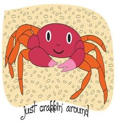 Just Crabbin Around vector