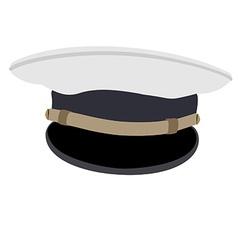 Navy cap vector image
