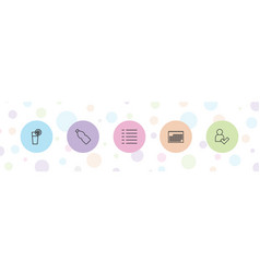 Ui icons vector