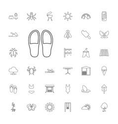 33 summer icons vector