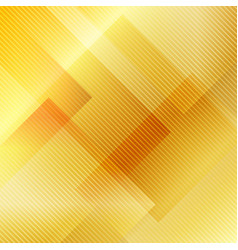 abstract gold gradient geometric squares vector image