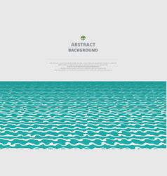 abstration of sea water layer background vector image