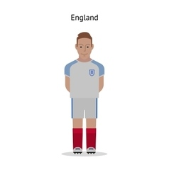 Football kit England vector