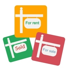 For rent icon vector