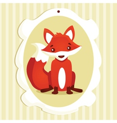 Fox Frame vector