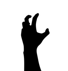 ghost hand rise from the grave vector image