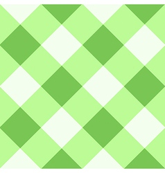 Green Flash White Diamond Chessboard Background vector image