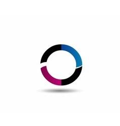Letter O logo icon design template elementsLetter vector image