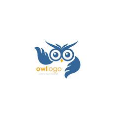 Owl bird infinity wise owl wise symbol vector