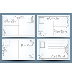 Post cards vector
