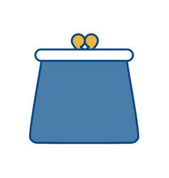 Purse accessory icon vector