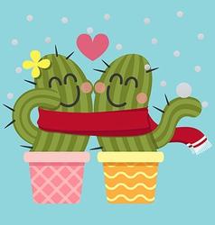 Scarf Cactus vector