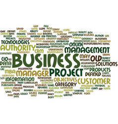 The old mba urgently claim for the new business vector