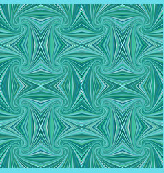 Turquoise seamless abstract psychedelic spiral vector