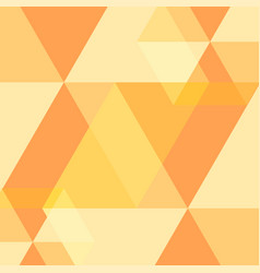 yellow abstract square background vector image
