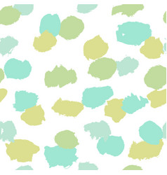 paint objects grunge seamless pattern vector image vector image