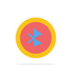 Bluetooth ui user interface abstract circle vector