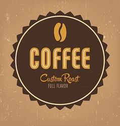 Coffe Label vector
