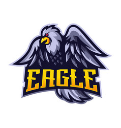 eagle sport logo vector image