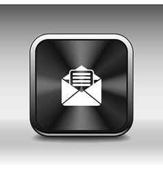 Envelope Mail Icon letter post email envelope vector image
