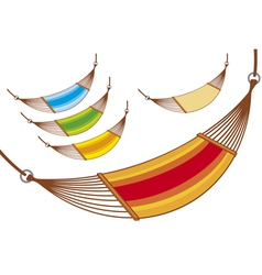 hammock set vector image