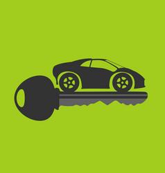 new car key vector image