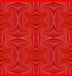 red seamless psychedelic abstract spiral stripe vector image