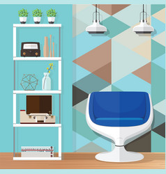room decorating ideas vector image