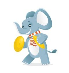 Elephant symbols vector image