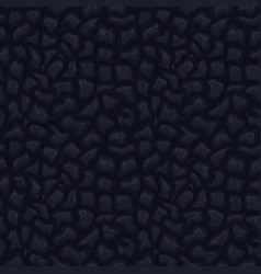 black seamless leather texture vector image vector image