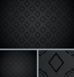 Black vintage poker diamond distressed background vector
