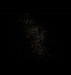 colorful confetti colorful grainy texture vector image