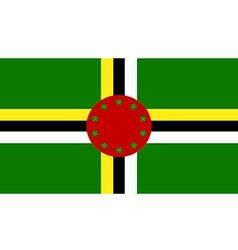 Dominica vector image
