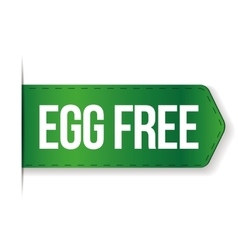 Egg Free sign vector