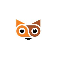 fox animal logo symbol vector image