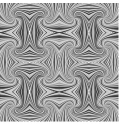 grey abstract hypnotic seamless striped vortex vector image
