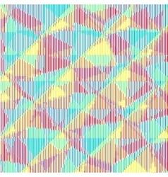 Multicolored halftone stripes texture vector